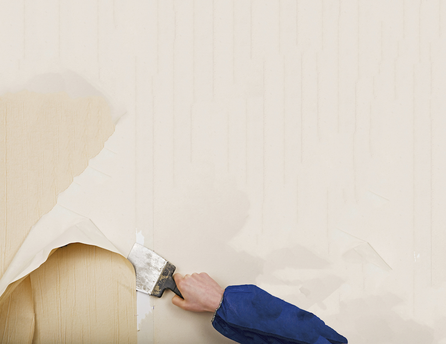 Wall Paper Removal residential wallpaper removal & installation | mpa painters