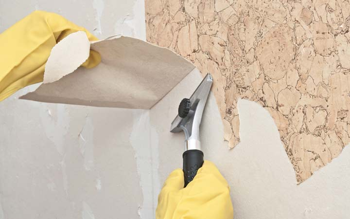 Mpa painters for What do you use to remove wallpaper
